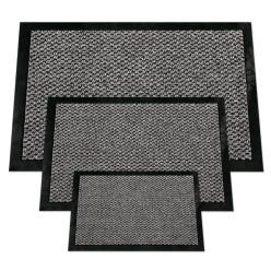 Tapis d'entrée absorbant gris - 40x60cm