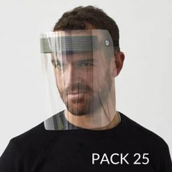 Protective visor - pack of 25