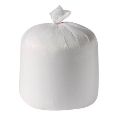Carton de 20 x 50 sacs poubelle blanc 60x60cm 15µ