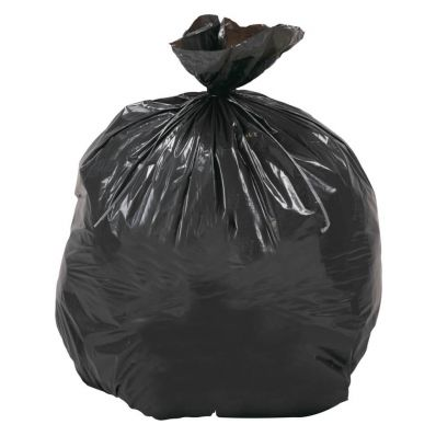 Carton de 10 x 20 sacs poubelle gris 70x100cm 60µ