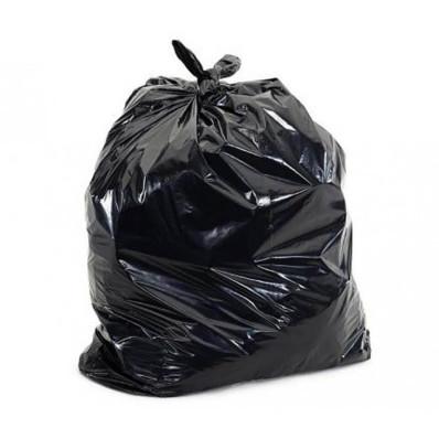 Carton de 10 x 10 sacs poubelle gris 115x140cm 70µ