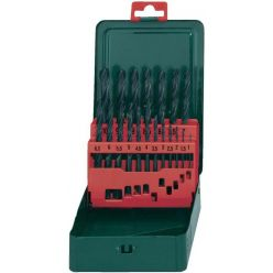 Boxes 25 metal drill bits HSS-R Metabo