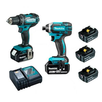 Pack of 2 screwdrivers Makita 18V DLX2127TJ1