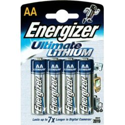 ULTIMATE LITHIUM AA battery (4 batteries)