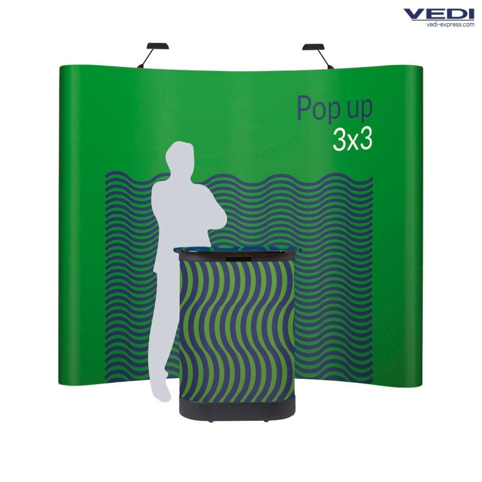 Stand parapluie 3x3 courbe full options for Stand parapluie 3x3