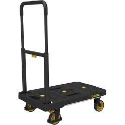Stanley Fatmax chariot plate-forme pliant, supporte jusqu'à 135 kg