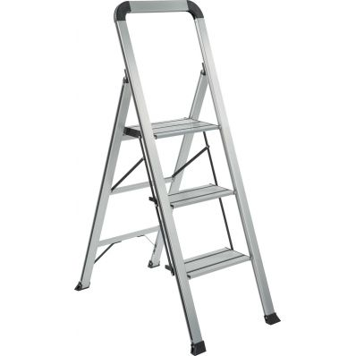 Galico escalier de cuisine espace aluminium, 3 marches