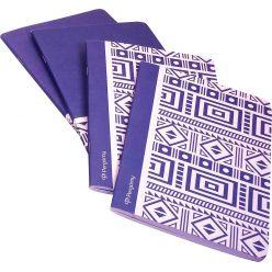 Pergamy Ethnic cahier, ft A5, ligné, 48 pages, bleu