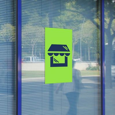 Window stickers - zelfklevend venster