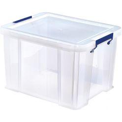 Bankers Box boîte de rangement ProStore 36 litres, transparent