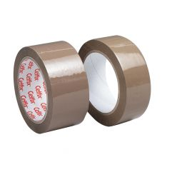 Celfix ruban adhésif d'emballage ft 38 mm x 66 m, PP, brun