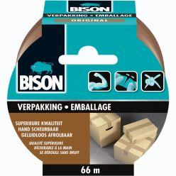 Bison ruban d'emballage Original, 50 mm x 66 m