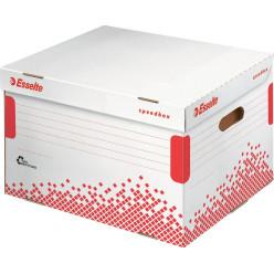 Esselte conteneur à archives Speedbox, pour les classeurs à levier