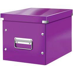 Leitz Click & Store cube boîte de classement midi-grande, pourpre