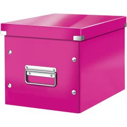 Leitz Click & Store cube boîte de classement midi-grande, rose