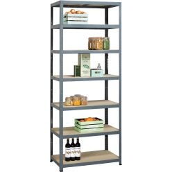 Avasco étagère Strong Tower L, ft 222 x 90 x 45, 7 tablettes