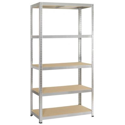 Avasco étagère Strong 175, ft 176 x 90 x 45 cm, 5 tablettes, galvanisé