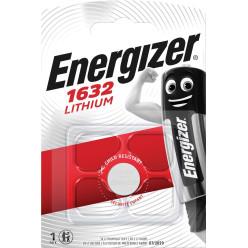 Energizer pile bouton CR1632, sous blister