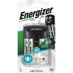 Energizer chargeur Pro Charger, 4 x AA piles inclus, sous blister