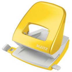 Leitz NeXXt Series WOW Perforateur de bureau, 30 feuilles, jaune, blister