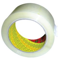 Scotch ruban d'emballage 371, ft 50 mm x 66 m, transparent