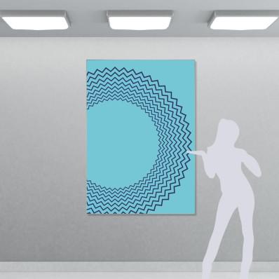 Cadre textile mural (sans image)