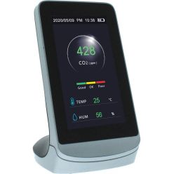 Kokoon Air Protect détecteur de CO2, avec écran LCD, connexion Wifi