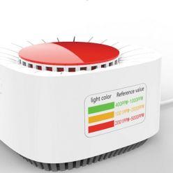 Kokoon Air Protect détecteur de CO2, alerte par variation de couleur et alarme, connexion Wifi