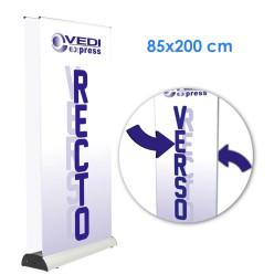 Rollup Recto-Verso 85x200 sans image