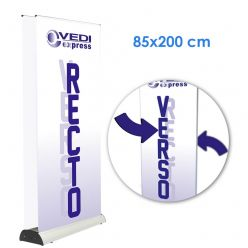 Two-sided Rollup DeLuxe 85x200 without printing