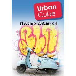 Bâche Cube Urbain 120x220
