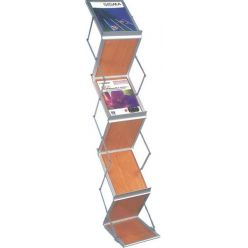 RV A4 Brochure Holder wood