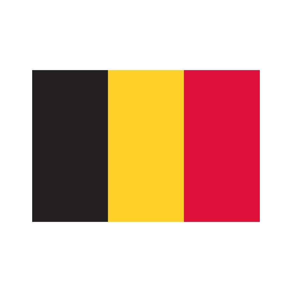 Top Drapeau Belgique imprimé CF57