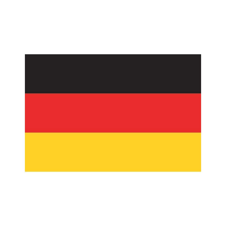 Drapeau Allemagne En 4jrs