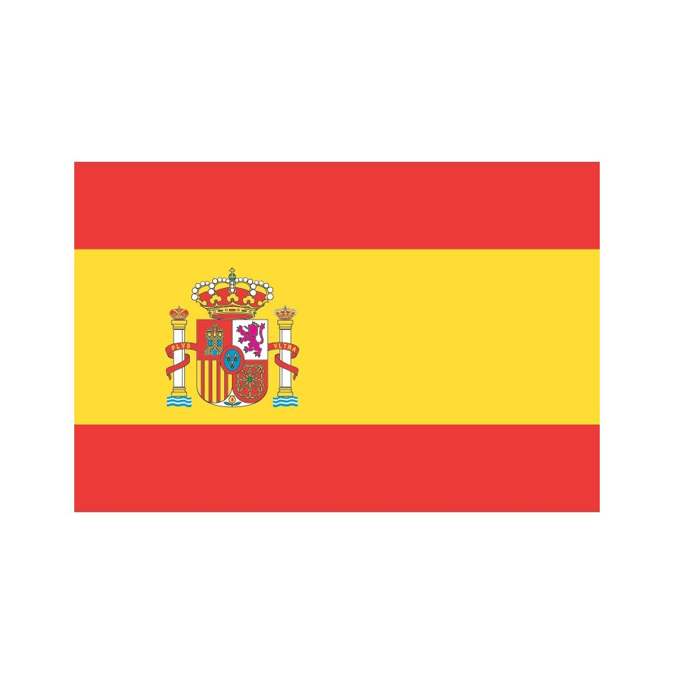Drapeau Espagne En 4jrs