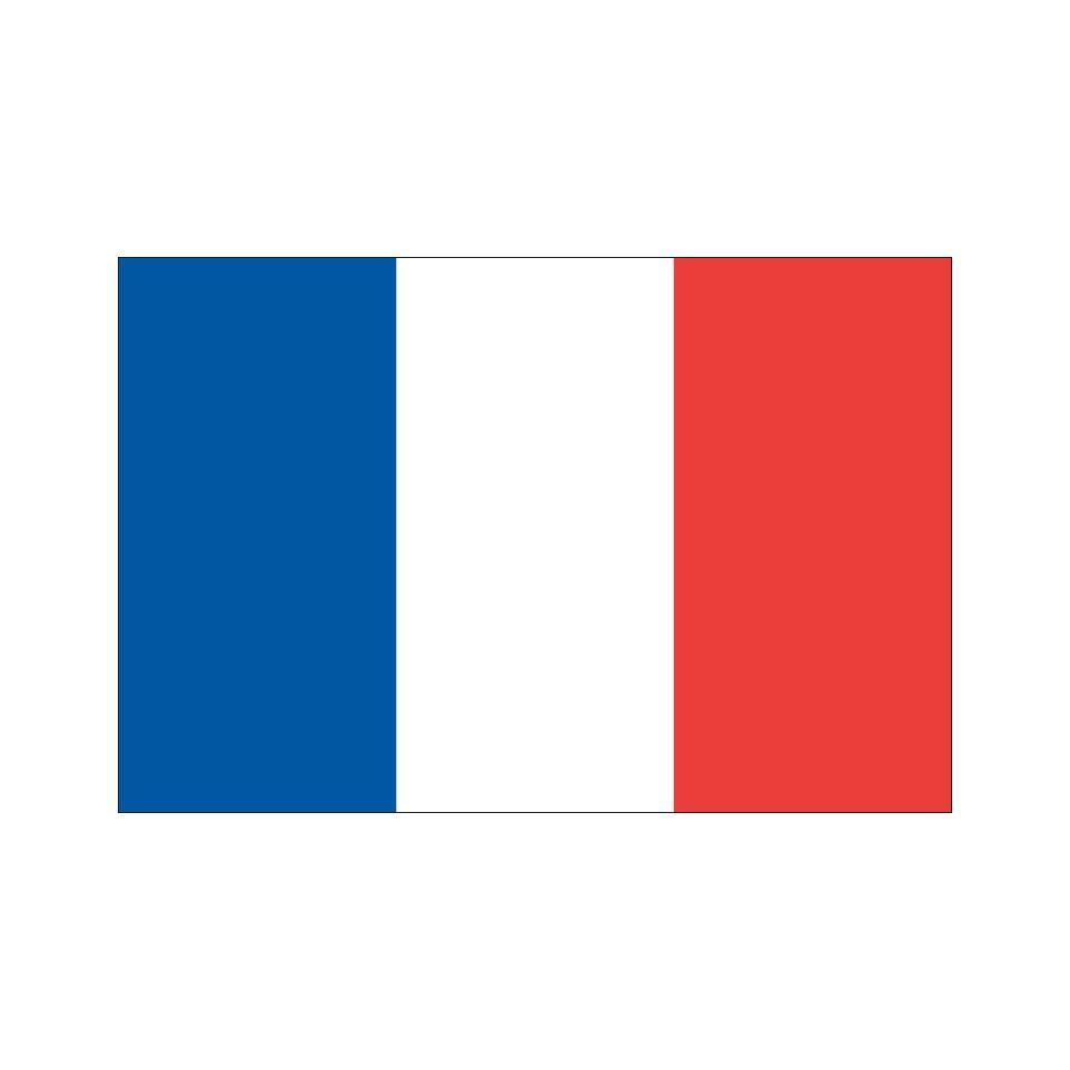 Fabulous Drapeau de France - Impression de haute qualité QK57