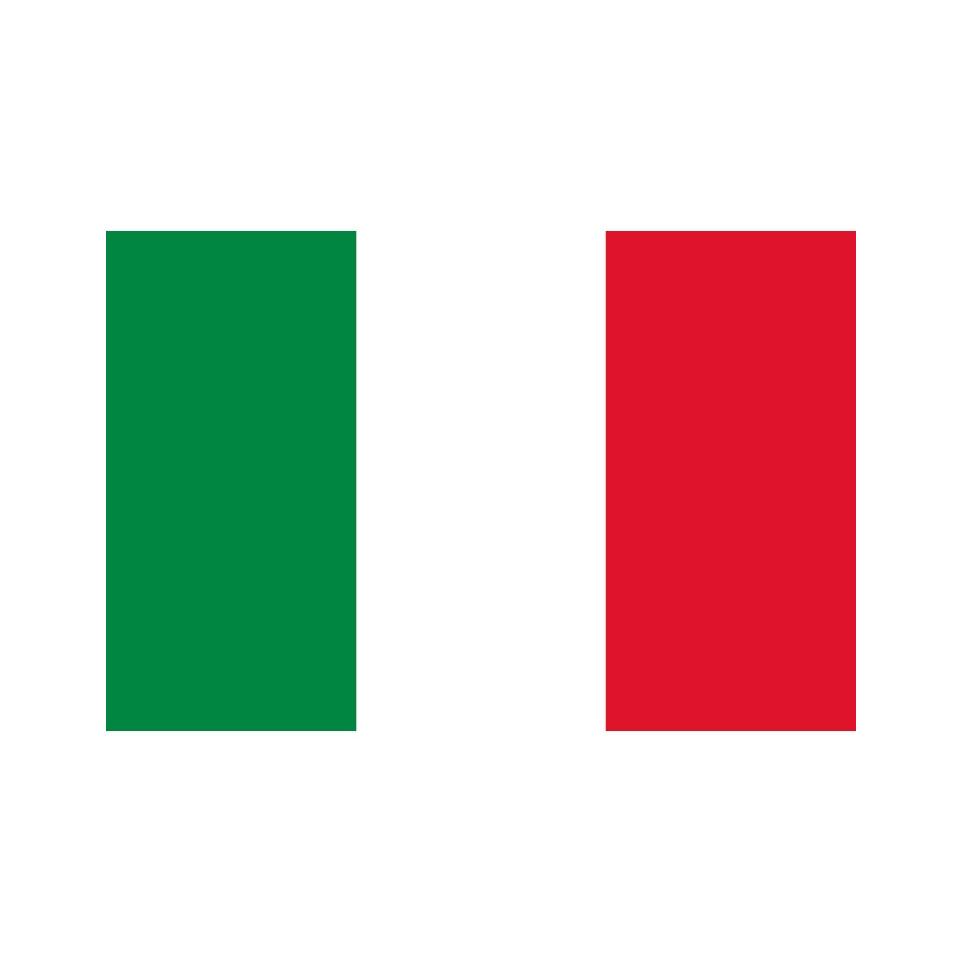 Drapeau Italie En 4jrs