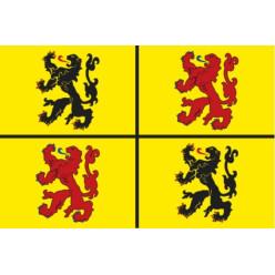 Drapeau province du Hainaut