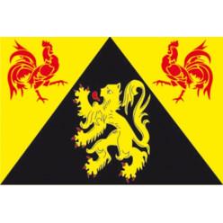 Drapeau province du Brabant wallon
