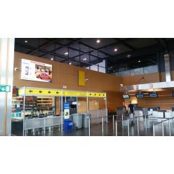 Image caisson Alpha In aéroport Gosselies