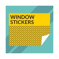 Window stickers - zelfklevend venster (Creator)