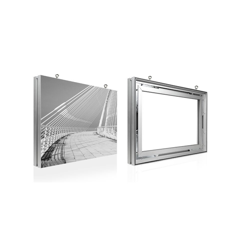 Double Sided Hanging Textile Frame