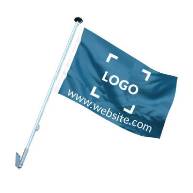 Facade flagpole