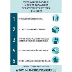 Affiche Standard Coronavirus