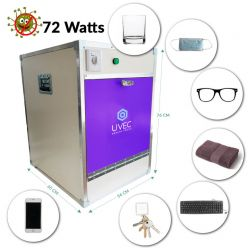 UVEC: UV-C disinfectant cabinet
