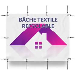 Bâche textile recyclable