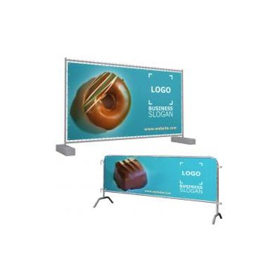Barriers banners