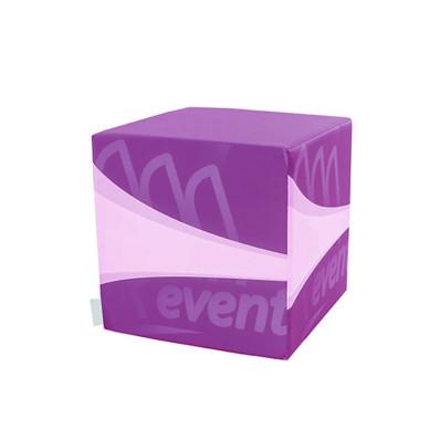 Pouf personnalisé (Cube ou Cylindre)