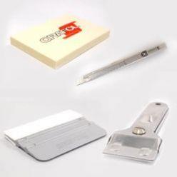 Sticker installatie accessoires