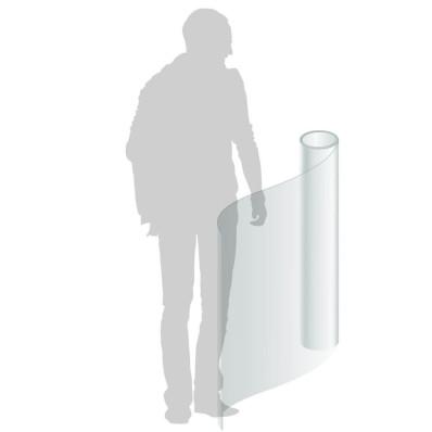 Film transparent de protection au mètre